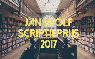 meld je aan voor de jan wolf scriptieprijs