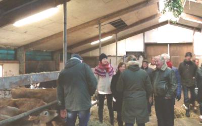 Actieve food community op Landgoed Eyckenstein