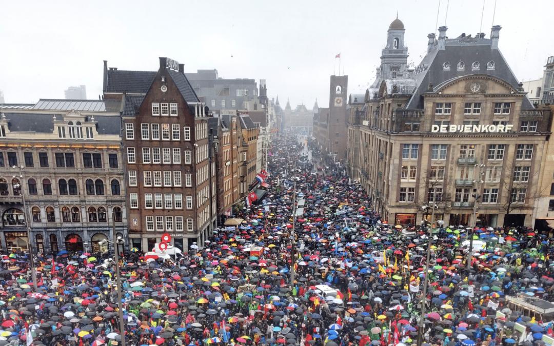 Grootste Klimaatmars in Nederland ooit