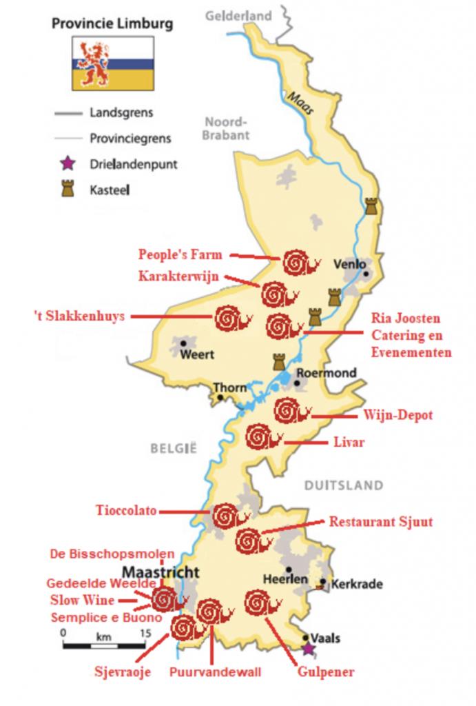 Kaartje_De beste lokale tips van Slow Food Limburg