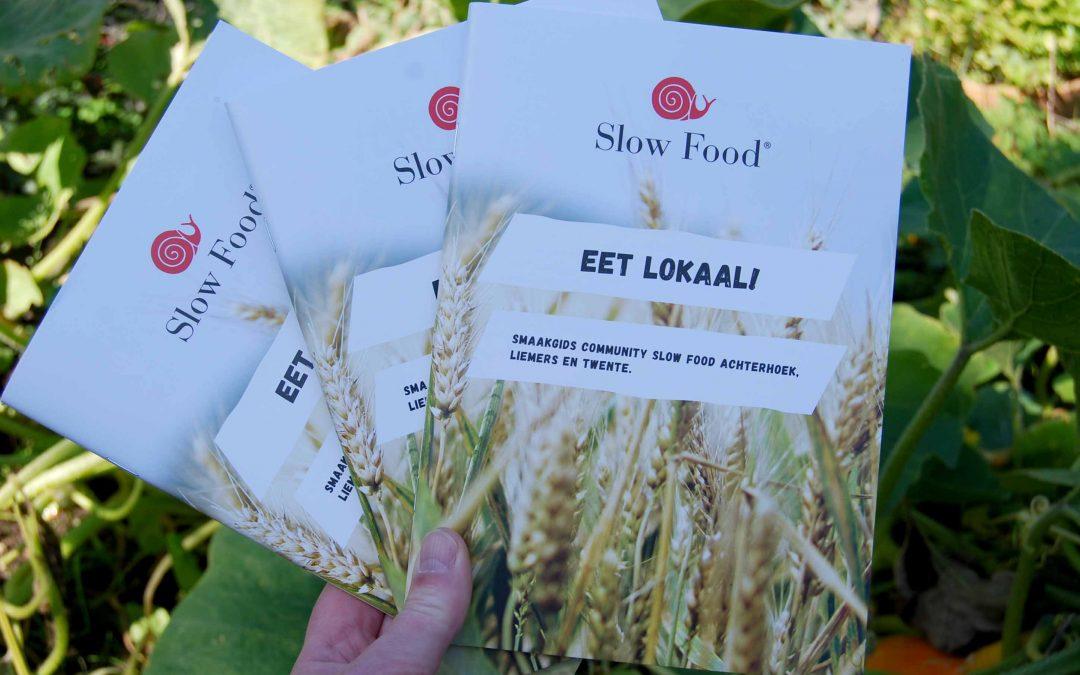 Smaakgids en wegwijzer naar lokale voedsel-voorziening