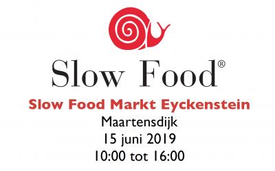 Slow Food Markt Eyckenstein op 15 juni