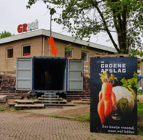 Jaarmarkt met lokale, duurzame voedsel- producenten